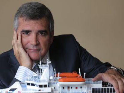 Adolfo Utor, presidente de Balearia.