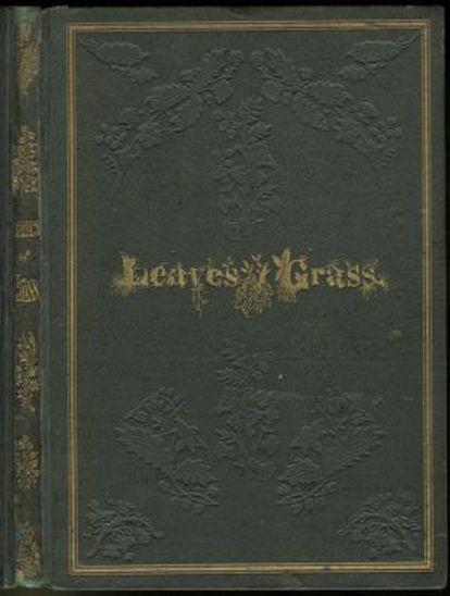 Primera edición de 'Hojas de hierba', de 1855.