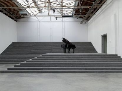 Una instalación de Philippe Parreno.