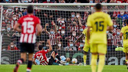 Raúl García marca el primer gol del Athletic ante el Villarreal