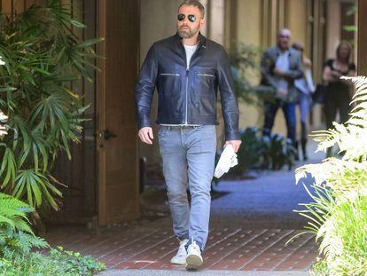Ben Affleck, horas después de salir del centro de rehabilitación.