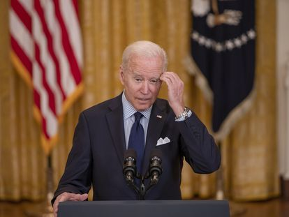 Joe Biden, el 7 de mayo de 2021.
