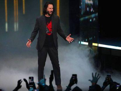 Kenu Reeves presenta 'Cyberpunk 2077' en Los Ángeles. En vídeo, declaraciones en la presentación de 'Project Scarlett'.