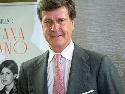 Cayetano Martinez de Irujo, durante la presentación de su libro.
