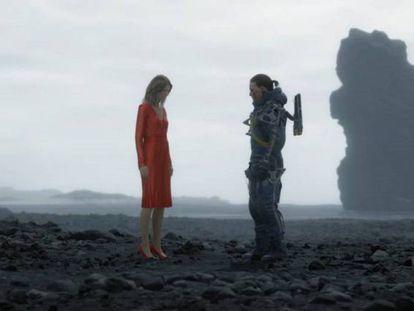 Imagen de una de las cinemáticas de 'Death Stranding'.