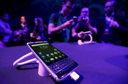 La presentación del BlackBerry KEYone fue una de las más destacadas en la edición 2017 del Mobile World Congress, en Barcelona.
