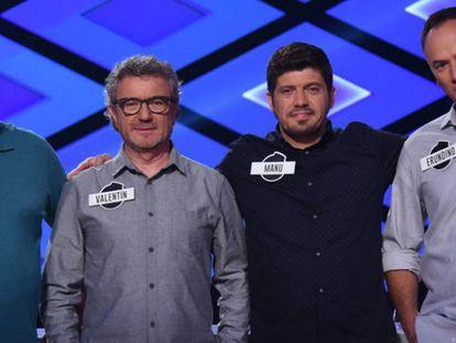 José Pinto, Valentín Ferrero, Manuel Zapata y Erundino Alonso, 'Los Lobos' de '¡Boom!'.