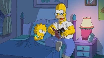 Una imagen de la temporada 30 de 'Los Simpson'.