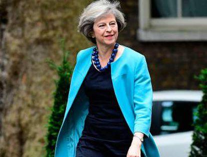 Theresa May, presidenta de Reino Unido.
