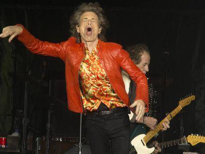 Mick Jagger, en un concierto en Filadelfia (EEUU) el 23 de julio.