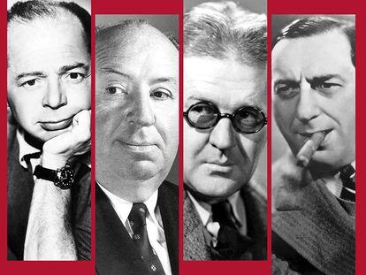 Detalle de la portada del libro 'Grandes directores del cine norteamericano'.