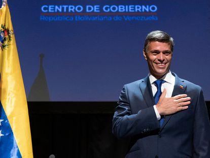 El político venezolano Leopoldo López, en el Circulo de Bellas Artes de Madrid este martes.