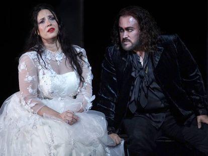 Sonya Yoncheva y Javier Camarena, protagonistas absolutos de 'Il pirata'.
