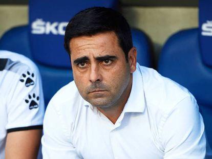 David Gallego, en un partido del Espanyol.