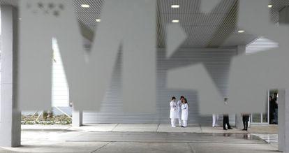 Instalaciones del hospital Infanta Sofía.