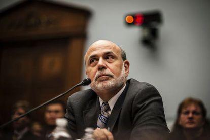 El rpesidente de la Fed, Ben Bernanke.