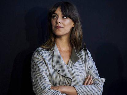 Belén Cuesta,en la Academia de Cine, tras la lectura la semana pasada del título de la representante española en los Oscar. En vídeo, tráiler de 'La trinchera infinita'.