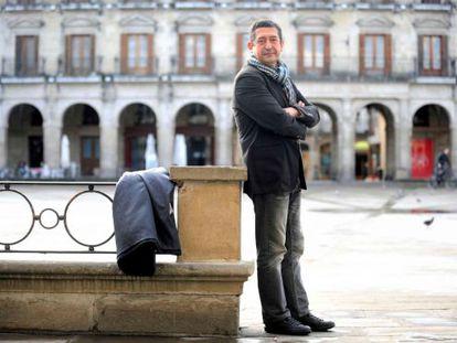 Juan Carlos Alonso, el pasado viernes en Vitoria.