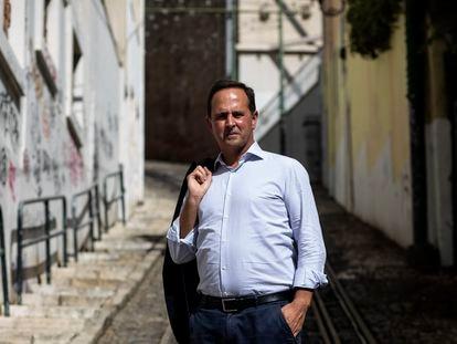 El alcalde de Lisboa, el socialista Fernando Medina, el pasado martes en el centro histórico.