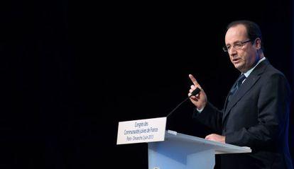 El presidente francés, Francois Hollande.