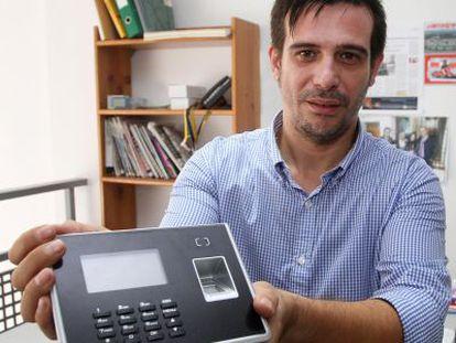 Alejandro Gómez, uno de los dos hermanos fundadores de Qualica-RD, en Córdoba.
