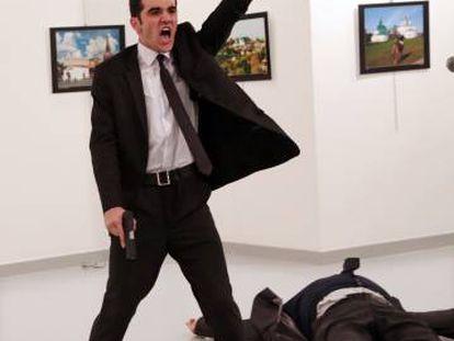 'Un asesinato en Turquía', fotografía ganadora del World Press Photo 2017.