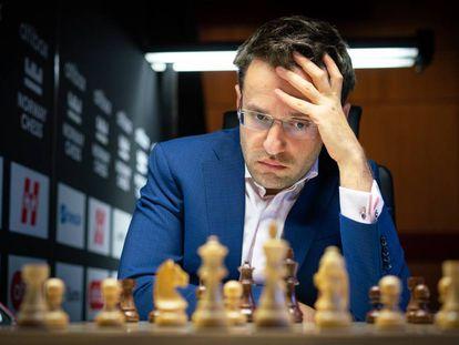 Levón Aronián, durante el torneo Altibox Norway Chess el pasado octubre en Stavanger (Noruega).