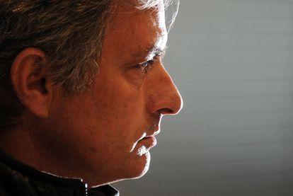 José Mourinho, durante su conferencia de prensa de ayer.