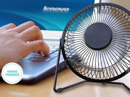 Probamos los mejores ventiladores portátiles con USB para la mesa de escritorio.