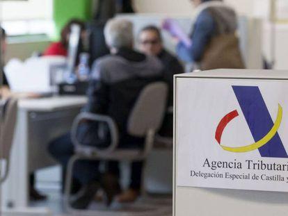 Una delegación de la Agencia Tributaria.