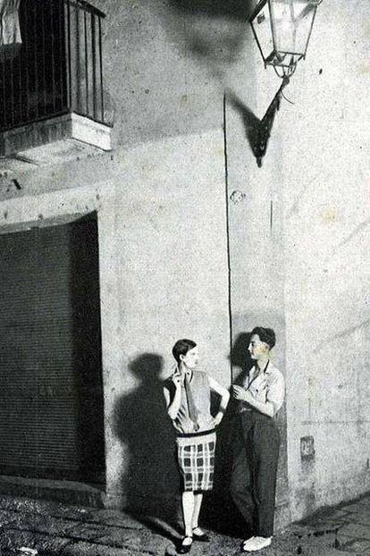 <i>Prostitución masculina</i>, de Josep Maria de Sagarra (1932).