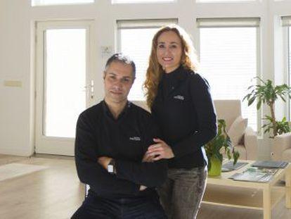 La empresa 100x100 madera idea casas bien aisladas, con poco gasto energético y en las que se limpia el aire que se respira dentro