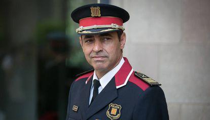 Josep Lluis Trapero toma posesion como Mayor de los Mossos.