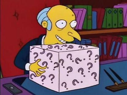 El señor Burns en un fotograma de la serie 'Los Simpson'.