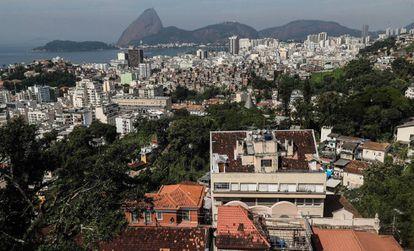 Vista general de Río de Janeiro.