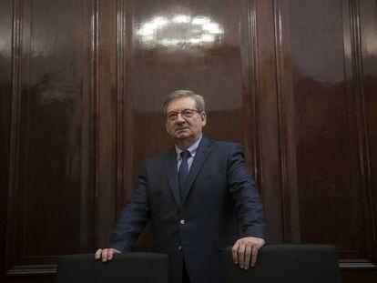 Fernando Martínez, director general para la Memoria Histórica, en el Ministerio de Justicia.