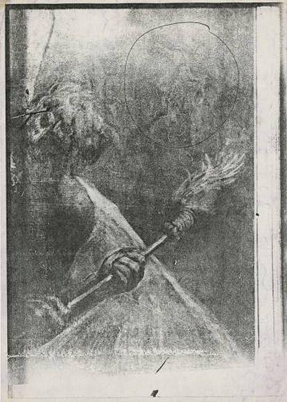 Sin título, (Goya, Las Viejas), circa 1979-1983
