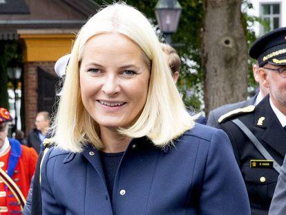 Mette Marit de Noruega, en un acto público el pasado 6 de septiembre.