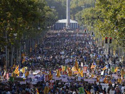 Así te hemos contado la manifestación de este sábado contra los ataques terroristas