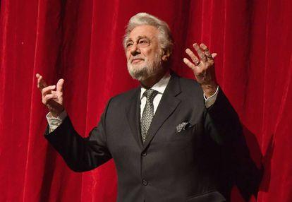 Plácido Domingo, en una imagen de noviembre 2018, en el Met de Nueva York.