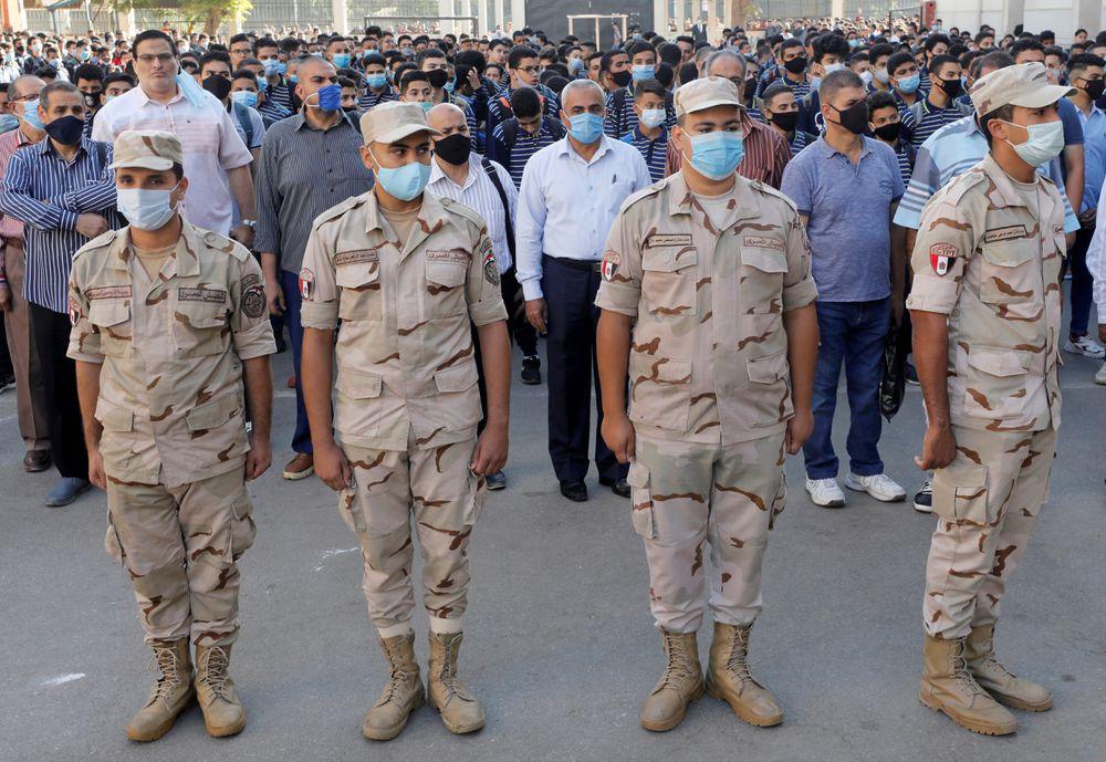 Y el Ejército egipcio mostró su poder