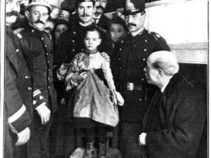 El judici pel segrest de la nena Teresa Guitart el 1912 mai no es va fer.