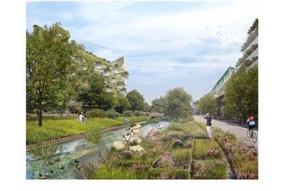 La idea de Maas es diseñar arquitectura urbana que de acceso a la naturaleza, y mejorar la biodiversidad para frenar el cambio climático.