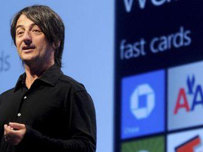 Joe Belfiore, vicepresidente corporativo de Microsoft.