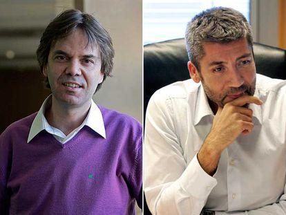 José Manuel Romero-Salazar, a la izquierda, y Goyo Rodríguez.