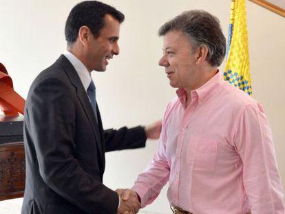 Capriles y Santos, en Bogotá.