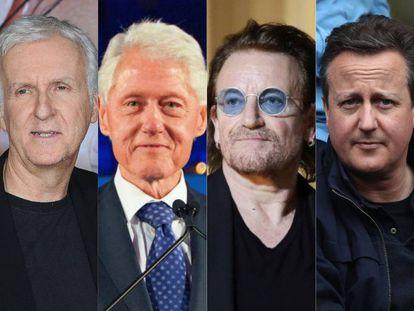 James Cameron, Bill Clinton, Bono (U2) y James Cameron, algunos de los rostros más conocidos que han dado charlas poco acertadas de Ted Talks.
