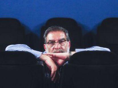 Enrique González Macho, retratado ayer en las oficinas de Alta Films.