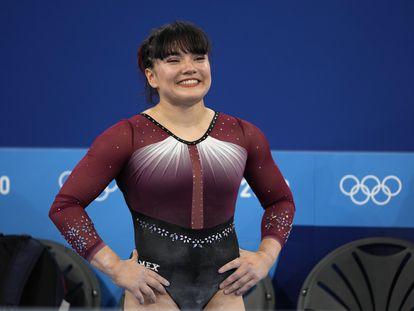 Alexa Moreno durante la ronda clasificatoria de los Juegos Olímpicos de Tokio 2020.
