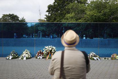 Memorial por las víctimas del programa Aktion T4 en Berlín.